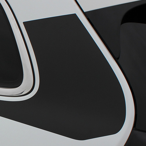 close up of 2018 Jeep Cherokee Body Graphics WARRIOR 2014-2021
