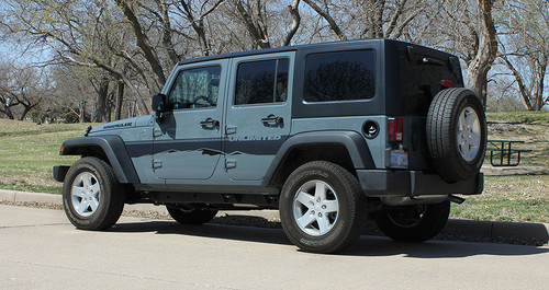 profile 2017 Jeep Wrangler Side Graphics TREK 2008-2018