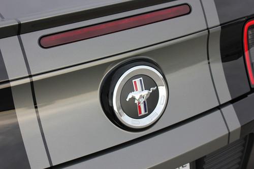 close up rear BEST! 2013-2014 Ford Mustang Center Stripe Kit VENOM KIT