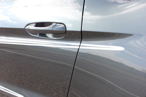 close up door 2015 Mustang with Racing Stripes REVERSE 2015 2016 2017