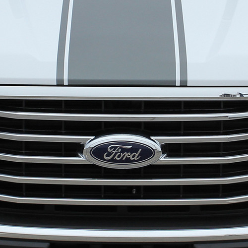 hood close up 2016 Ford F150 Stripe Package 150 CENTER STRIPE 2015-2017
