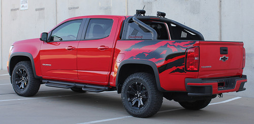 driver side Best! GMC Canyon Rear Mountain Graphics ANTERO 2015-2021