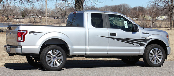 passenger side of 2020 Ford F150 Graphics Package APOLLO 2015 2016 2017 2018 2019 2020