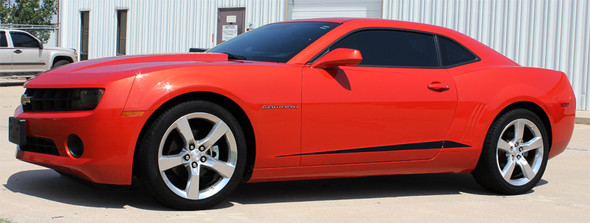 profile Rocker Stripes for 2014 Chevy Camaro 3M ROCKER SPIKES 2009-2015