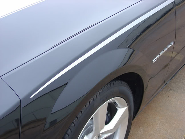 close up  Upper Body Line Stripes for Chevy Camaro 3M JAVELIN 2009-2015