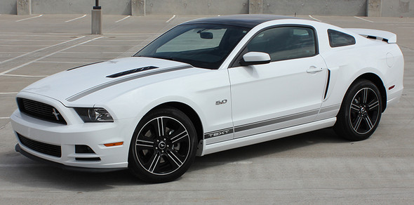 side of California Edition Stripes for Mustang  CALI EDITION 2013-2014