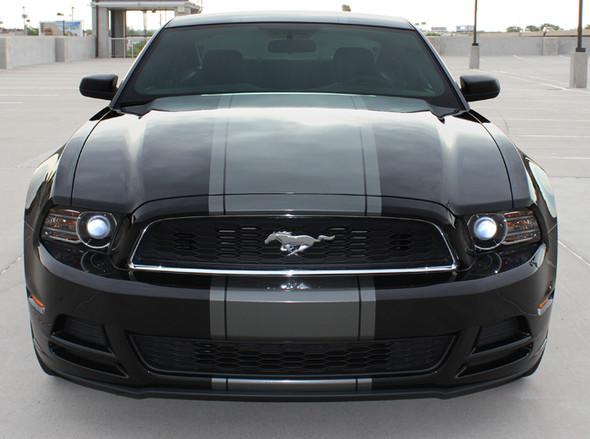 front view 2014 Custom Ford Mustang Stripes VENOM 2013 2014