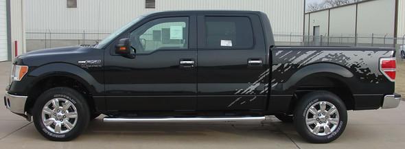 side of 2014 Ford Raptor Decals PREDATOR 2009-2011 2012 2013 2014