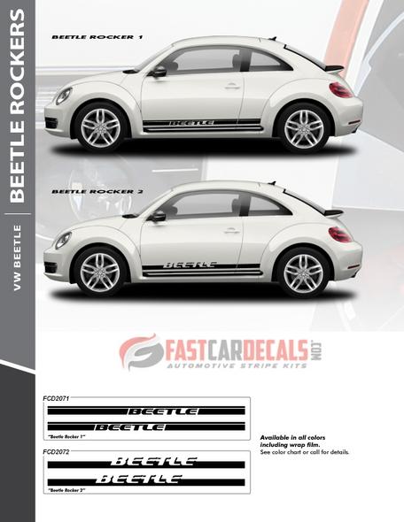 flyer for VW Beetle Graphics ROCKER 1 2012-2014 2015 2016 2017 2018 2019 2020