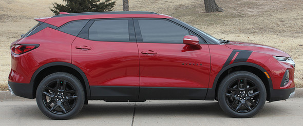 profile view of Premier, L, LTR, RS Chevy Blazer Stripes TORCH HASHMARK 2019-2021