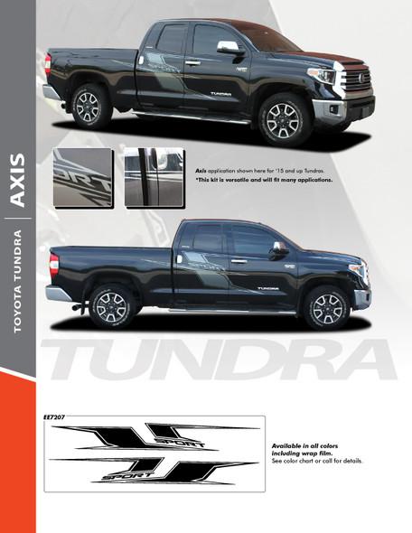 sales flyer 2015-2021 Toyota Tundra Door Side Graphics AXIS SPORT