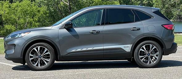 side of 2021 Ford Escape Side Door Stripes EVADE SIDE 2020-2021