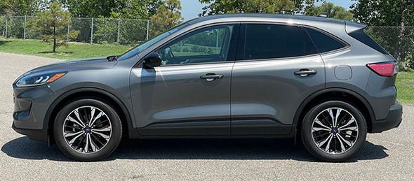 side of 2021 Ford Escape Upper Side Stripes SABRE SIDE 2020-2021