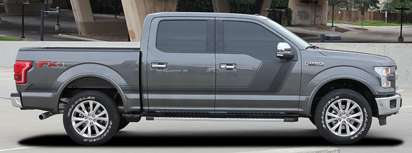 side of 2017 F150 Graphics Package 15 QUAKE 2009-2020