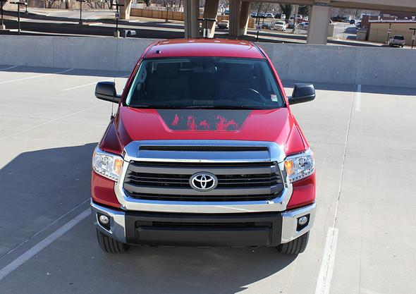 front SHREDDER TRD | Toyota Tundra Custom Graphic stripes 2014-2018