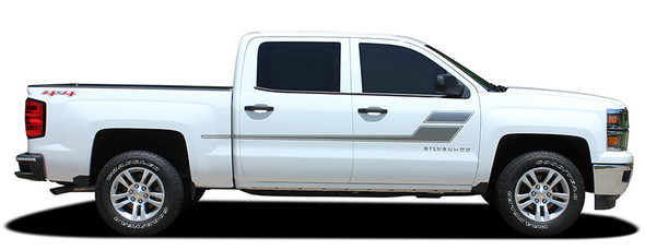 profile Chevy Truck Graphics SPEED XL 2013 2014 2015 2016 2017 2018
