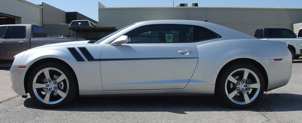 profile BEST! 2009-2015 Chevy Camaro Mid Body Side Stripes TRACK