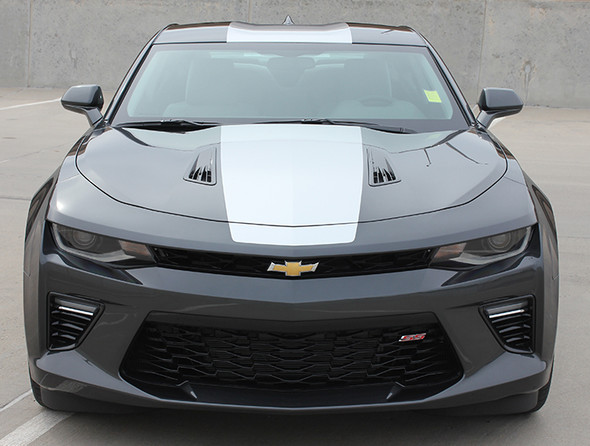 front view Chevy Camaro Wide Center Graphics OVERDRIVE 2016 2017 2018