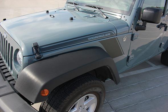 close up Jeep Wrangler Body Graphics RUNDOWN 2008-2017 2018