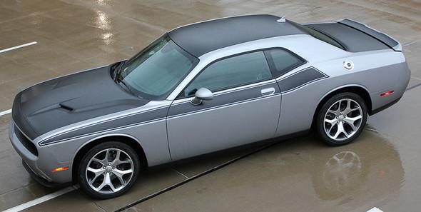 side view NEW! R/T 392 Dodge Challenger TA Stripes PURSUIT 2011-2021