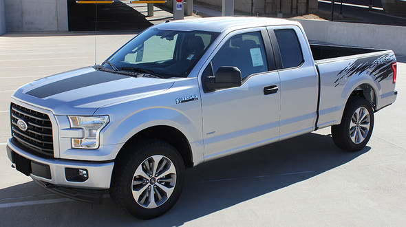 front 2020 Ford F150 Side Stripes ROUTE RIP 2015-2020