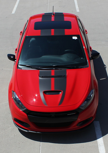top front Dodge Dart Stripes SPRINT RALLY GT 2013 2014 2015 2016