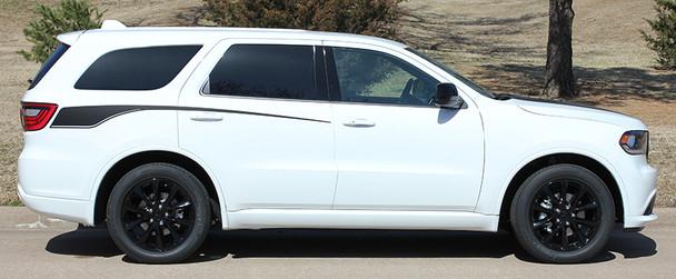 profile of 2019 Dodge Durango Side Stripes PROPEL SIDE KIT 2011-2020 2021