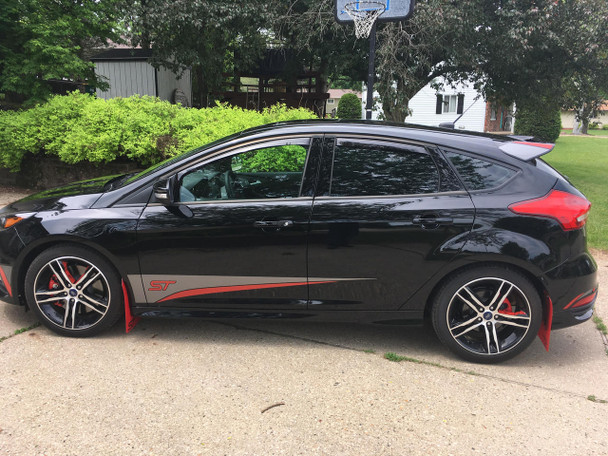 side of Ford Focus Graphics Package BLADE 2015 2016 2017 2018 2019
