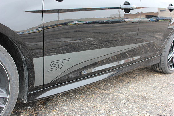 side of BEST! Ford Focus Graphics Kit BLADE 3M 2015 2016 2017 2018