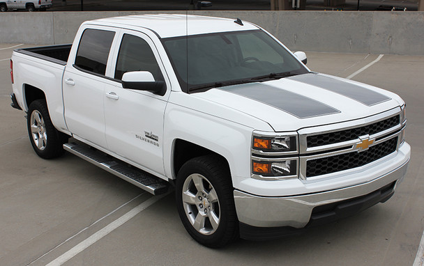 front angle of BEST! 2014 Silverado Rally Stripes 1500 RALLY  2013 2014 2015