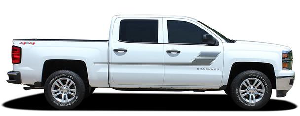 profile 2016 Chevy Silverado Truck Bed Decals SPEED XL 2013-2016 2017 2018