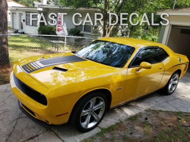 Dodge Challenger Body Rear Stripes CUDA STROBE 3M 2008-2019