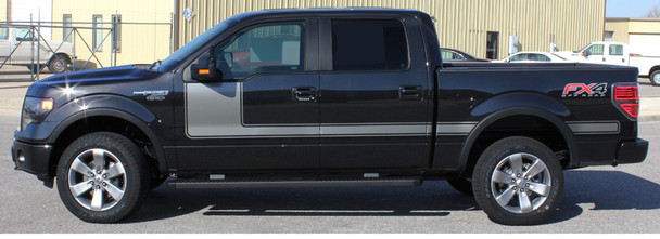 profile of 2019 F150 Side Decals 15 FORCE 1 2009-2018 2019 2020 2021