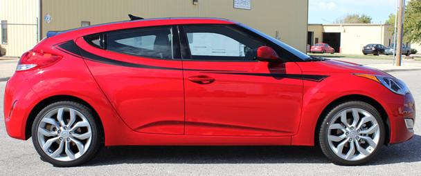 profile Hyundai Veloster Side Door Stripes RELAY 2011-2017 2018