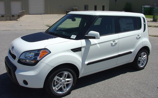 side angle BEST! Kia Soul Side Decals Graphics SOULPATCH 2010-2019