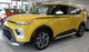 side of yellow 2020 Kia Soul Side Decals OVERSOUL NEW Fast Car Designs!