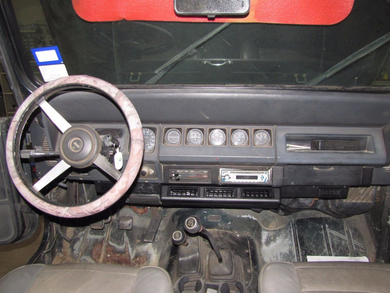 1987 1988 1989 1990 1991 1992 1993 1994 1995 Jeep YJ Wrangler Air Conditioning Complete System