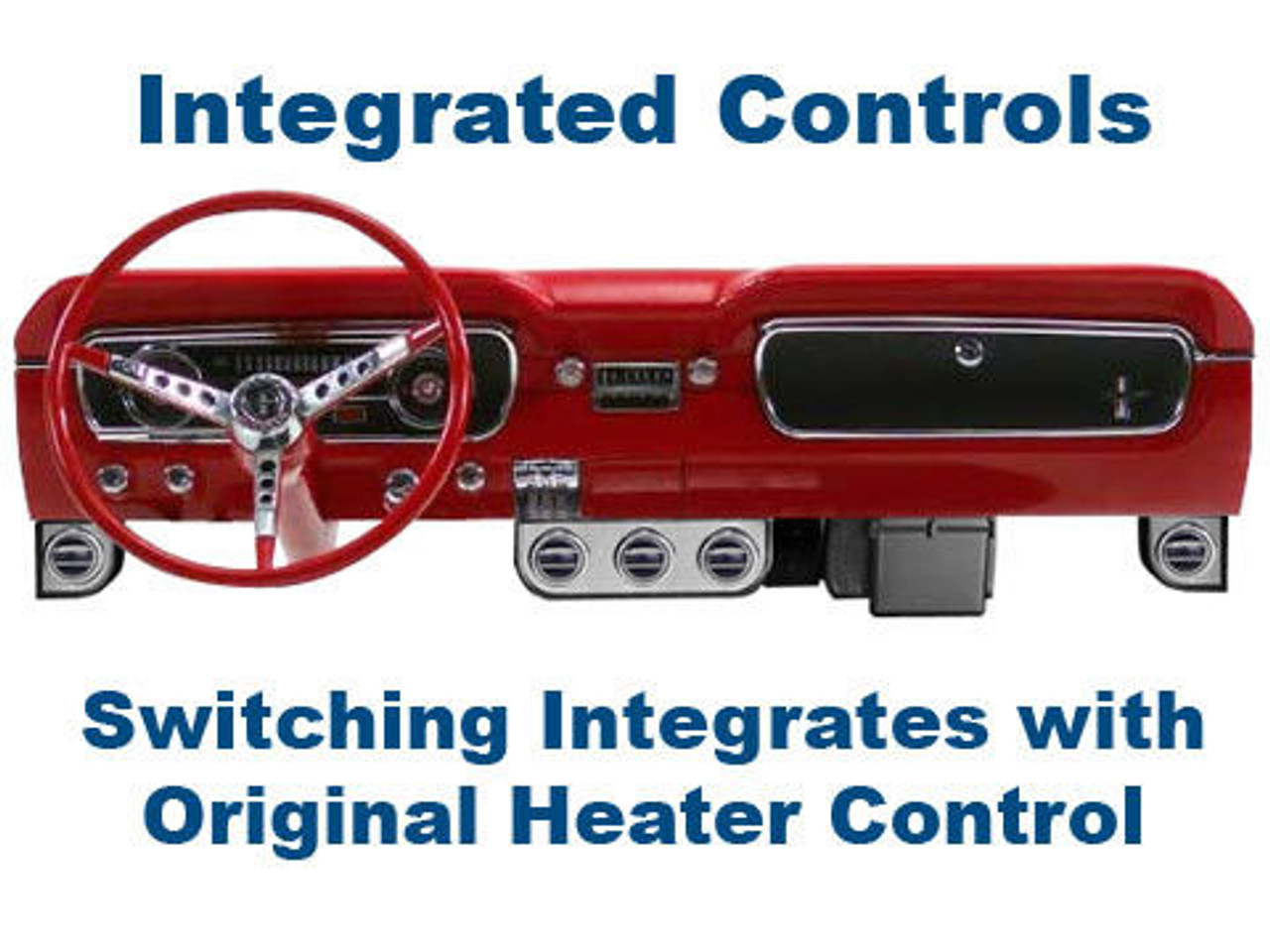 1966 FORD MUSTANG A//C FAN MOTOR BLOWER SWITCH AC Air Conditioning Under-Dash