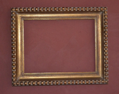 "FM 230 - Gold Metal Leaf F-Lt DNPSW Tone, 2 7/8"" Width X 1 3/4"" Hight The Frame in this Image is 12""  x  16"" (Art Size)"