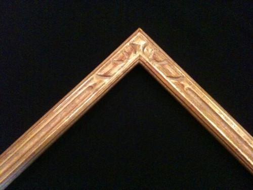 """C-O1 Hand Carved, Plein Air, 22 Karat Genuine Gold leaf  Width 1 3/4""""  X   7/8"""""""
