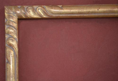 "C - AMCI - Hand Carved, Plein Air, 22 Karat Genuine Gold leaf  Moulding Width 1 5/8""  X   1 1/2"" Hight  Rabbet Size: 1 1/8""  Hight  x  1/4"" Width"
