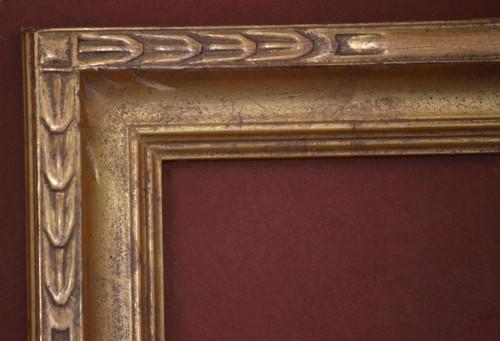 "C - 670 - Hand Carved, Plein Air, 22 Karat Genuine Gold Leaf  Moulding Width 2 3/4""  X  1 3/4"" Hight  Rabbet Size: 5/16""  Hight  x  1/4"" Width"
