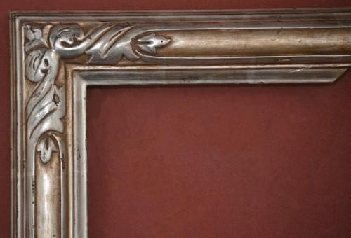 "C - 1925 - Hand Carved, Plein Air, 12 Karat Genuine Gold Leaf  Moulding Width 2 3/4""  X  1 3/4"" Hight  Rabbet Size: 3/4""  Hight  x  5/16"" Width"