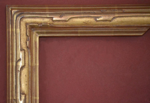 "C - 1986 - Hand Carved, Plein Air, 22 Karat Genuine Gold Leaf  Moulding Width 2 3/4""  X  1 3/4"" Hight  Rabbet Size: 3/4""  Hight  x  5/16"" Width"