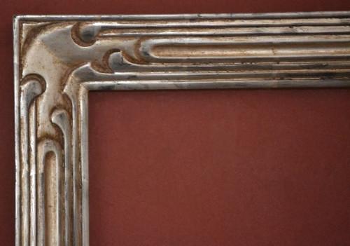 "C - 2525 -  Hand Carved, Plein Air, 12 Karat Genuine Gold Leaf  Moulding Width 2 1/2""  X  1 1/2"" Hight  Rabbet Size: 3/8""  Hight  x  3/8"" Width"