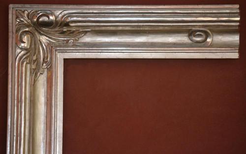 "C - 7078 - Hand Carved, Plein Air, 12 Karat Genuine Gold Leaf  Moulding Width 4 5/8""  X   1 3/4"" Hight  Rabbet Size: 1/2""  Hight  x  7/16"" Width"