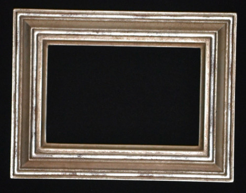 "FMOO79  -   12 Karat Genuine gold Leafed Frame - 1 1/4"" Wide Moulding  Art size : 4""  X  6""  Frame outside dimension : 6 1/4""  X 8 1/4"""