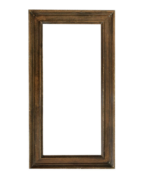 """8 3/4"""" x 21 1/2"""" - Solid wood frame by Richard Tobey"""