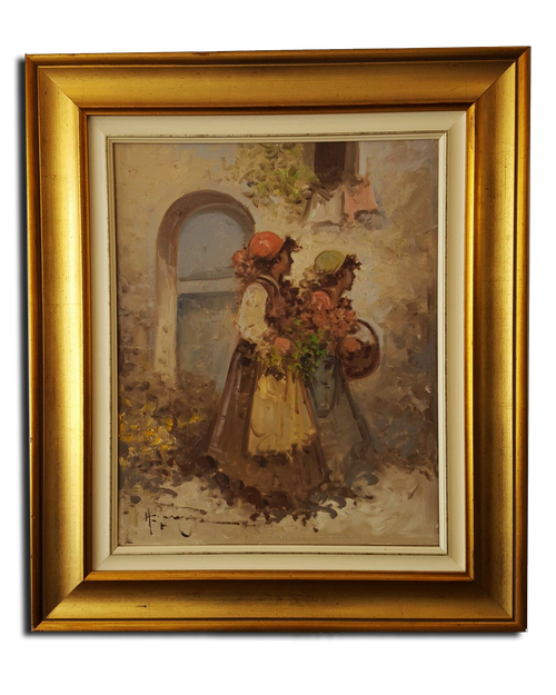 Fine Original Oil Painting