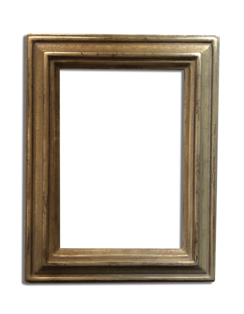 """4"""" x 6"""" - Photo Frame / Picture Frame Finished in Genuine 12K white Gold"""